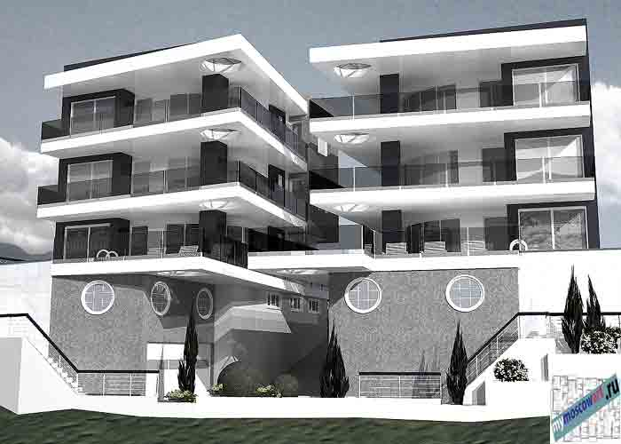 Проект 2 виллы - Черногория