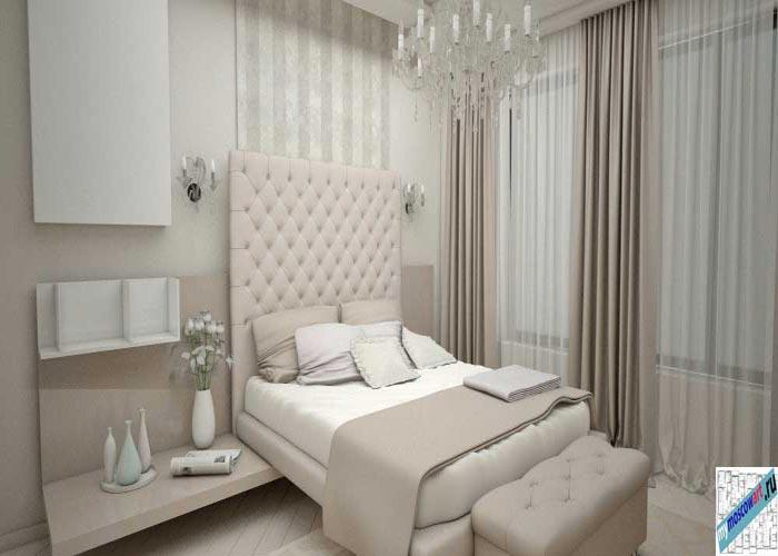 Спальня в Белграде - Интерьеры