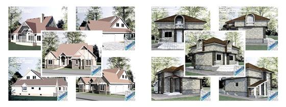 Проекты домов и коттеджей (4) 9