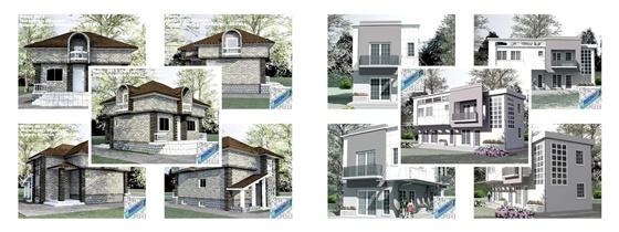 Проекты домов и коттеджей (2) 10