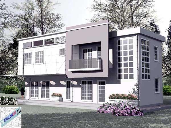 Проект бизнес-жилого дома - Соколович