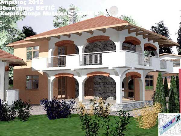 Проект дома - Бетич