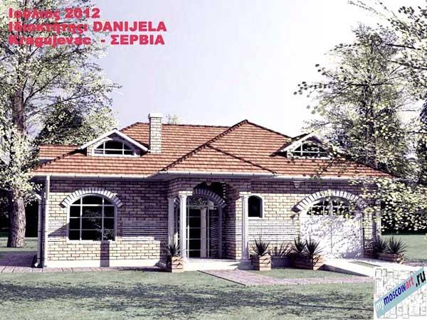 Проект дома - Даниела