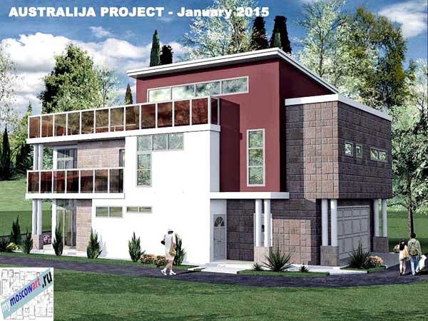 Проект дома - Томас