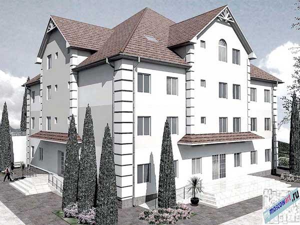 Проект дома для престарелых - Панич